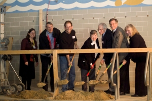 Breaking ground at Dobama's new theatre space